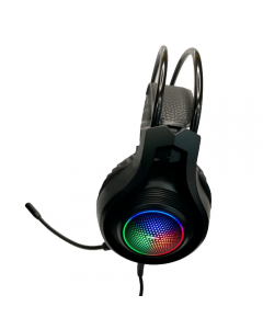 MOXOM MX-EP22 Wired Game Headphone 3D Surround Sound with Detachable Microphone